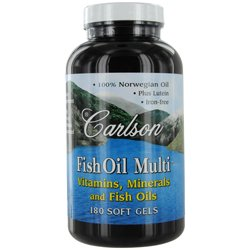 Carlson by fish oil multi vitamins mineral and fish oils for Carlson fish oil amazon