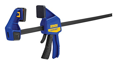 IRWIN QUICK-GRIP Bar Clamp, One-Handed Clamp/Spreader, 24-Inch (1964720)