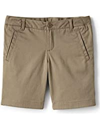 School Uniform Girls Stretch Chino Bermuda Shorts