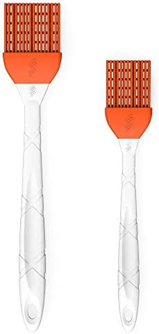 M KITCHEN WORLD Silicone Basting  BBQ Pastry and Oil Brush Turkey Baster Barbecue Utensil  use for