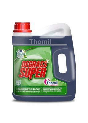 Thomil DEGRASS Super Desengrasante General de Superficies, Potente Limpiador de hornos, Campanas extractoras, freidoras, filtros, Superficies y Utensilios ...