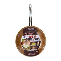 Red Copper Ceramic Non-Stick 10in Cookware Pan