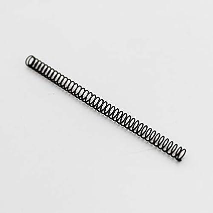 5pcs Petit Ressort de compression de 50 mm Diam/ètre de fil 0,2 mm Diam/ètre ext/érieur 1,5 mm /à 3 mm Taille : 0.2x1.5x50mm 5pcs W-NUANJUN-SPRING