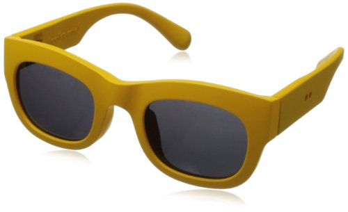 grafik:plastic Sean Wayfarer Sunglasses,Yellow & Grey,51 mm by grafik:plastic