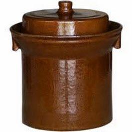 10 L FORM 1 (2.6 Gal) K&K Keramik German Made Fermenting Crock Pot Kerazo F1 by Kerazo (Image #1)