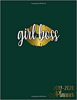 Amazon.com: Girl Boss: 2019-2020 Academic Planner | Vintage ...