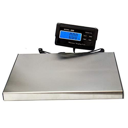 GIORAL Escala Postal del Paquete Postal de 300kg / 0.1kg Heavy Duty Digital Escala de la Oficina de Correos del Acero...