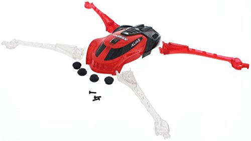 Traxxas-LaTrax-Alias-Quadcopter-RED-CANOPY-LED-LENS-FEET-Non-Skid-Screws