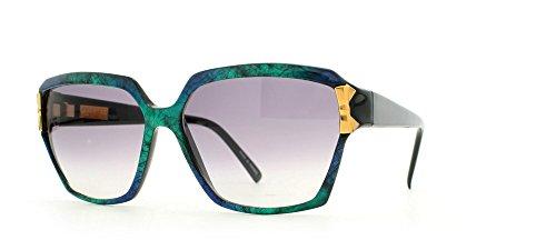 Nina Ricci 3002 3018 Green Certified Vintage Rectangular Sunglasses For - Sunglasses Nina Ricci