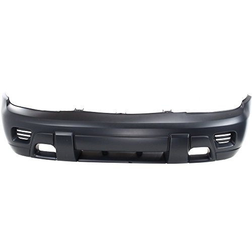 Chevy Trailblazer Replacement Parts - Front BUMPER COVER Primed for 2002-2009 Chevrolet Trailblazer 2002-2006 Chevrolet Trailblazer EXT