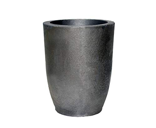 OTOOLWORLD 12KG Clay Graphite Crucible Foundry Cup Furnace Torch Melting Casting Refining Gold Silver Copper Brass Aluminum Lead Zinc and Alloys