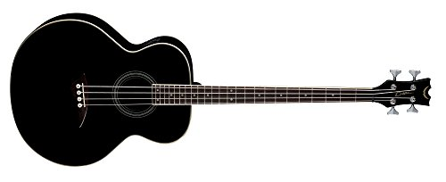 Dean Acoustic-Electric Bass, Classic Black by Dean Guitars
