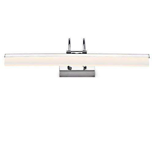 ERNTOGO Nordischen Stil Wasserdichte Anti-Fog-Feuchtigkeits-Badezimmer-Toilette LED-Spiegel-Frontleuchte Einfache Mode Make-up-Leuchten Wandleuchte Spiegelschrank Lichter Eitelkeitslicht