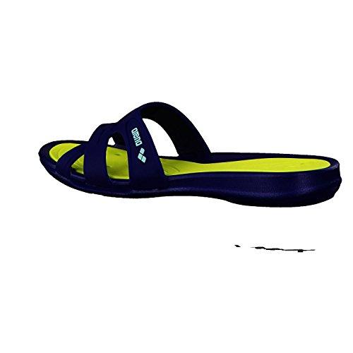 et Damen Chaussures de Athena Poolsandale Arena Bleu Femme Piscine Plage YSdqdAW