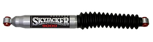 Dodge Ramcharger Stabilizer (Skyjacker 9000 Steering Stabilizer Extended Length 23.9 in. Collapsed Length 14.35 in. Silver w/Black Boot Replacement Cylinder Only No Hardware Included Steering Stabilizer)