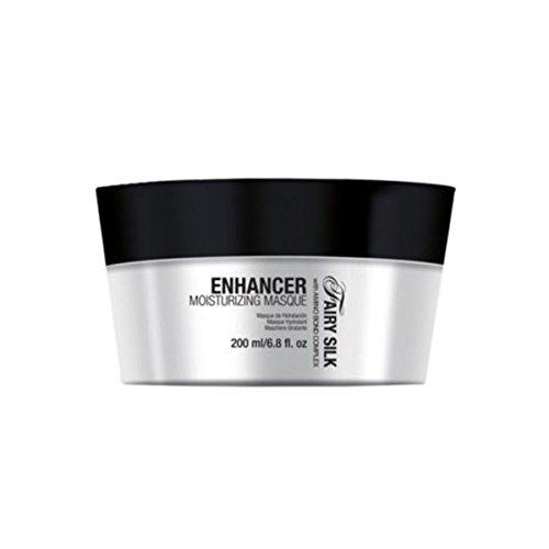 Maschera per capelli effetto anticrespo 200 ml con cheratina e amminoacidi del collagene Nika enhancer moisturizing masque 200ml