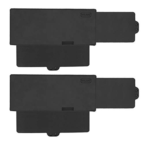 powerful SAILEAD Sun Visor Sunshade Extender for Car, Opaque Side Window Sun Visor Extender Windshield Sunshade and UV Rays Blocker, 2 Piece