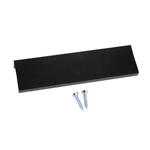 (4PCs Hidden Cabinet Handles Aluminium Alloy Kitchen Cupboard Pulls Drawer Knobs Bedroom Door Furniture Hardware Handle, Length: 120MM, Hole to Hole Distance: 96MM)
