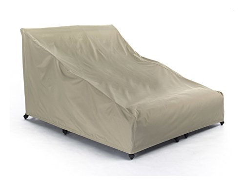 Elite Chaise - Covermates - Double Chaise Lounge Covers - 58W x 78D x 34H - Elite Collection - 3 YR Warranty - Year Around Protection