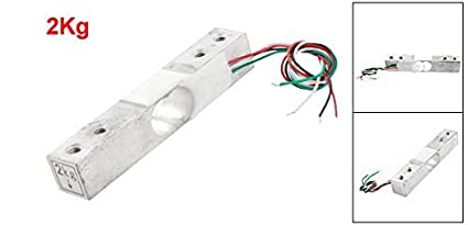 Amazon.com: 2kg 4.4lb aleación de aluminio Mini célula de carga de la Escala electrónica portátil: Industrial & Scientific