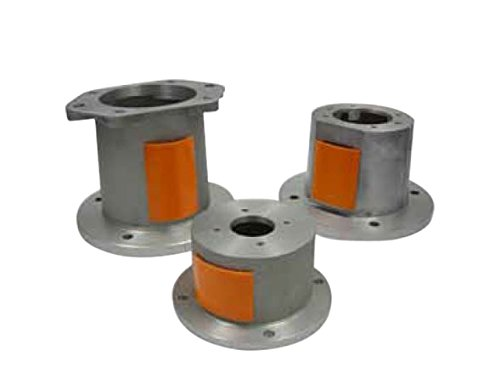 Lovejoy 84527105121 Aluminum Alloy Bell Housing, Nema-56 04-4F17 HV L=3.50, Horizontal/Vertical Motor Mount, Face to Face Length 3.5