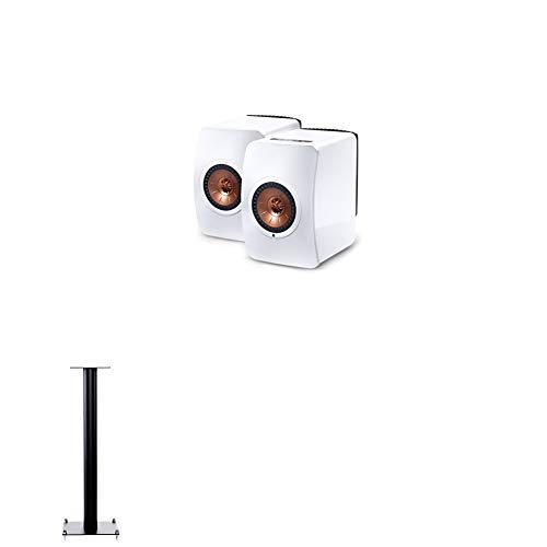 Price comparison product image KEF LS50 Wireless White Speaker Pair + Floorstands