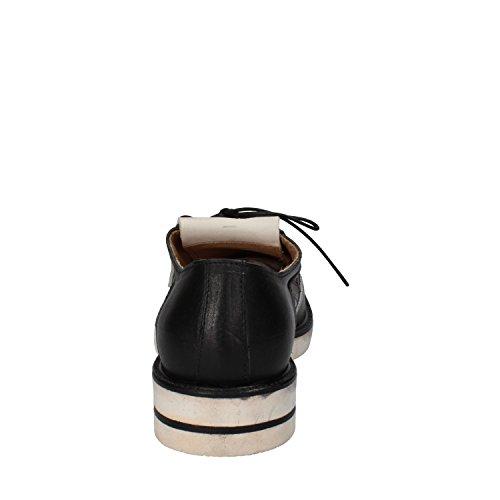MOMA - Zapatos de cordones de Piel para hombre negro