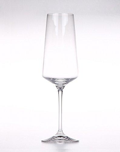 Da Vinci Collection (Set of 2 ARIA Crystal Champagne Glasses ITALIAN RCR Da Vinci)