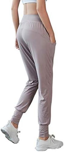 YANXIH レディースジョガーパンツポケット付きトラックスーツボトムススウェットパンツトレーニングジムヨガを実行するため (Color : T1, Size : XL)