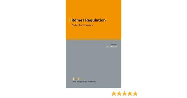 rome ii regulation huber peter