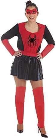 Disfraz de Súper Heroína con Araña para Mujer: Amazon.es: Juguetes ...