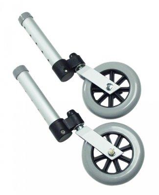 (Lumex 603850A Swivel Walker Wheel, 5
