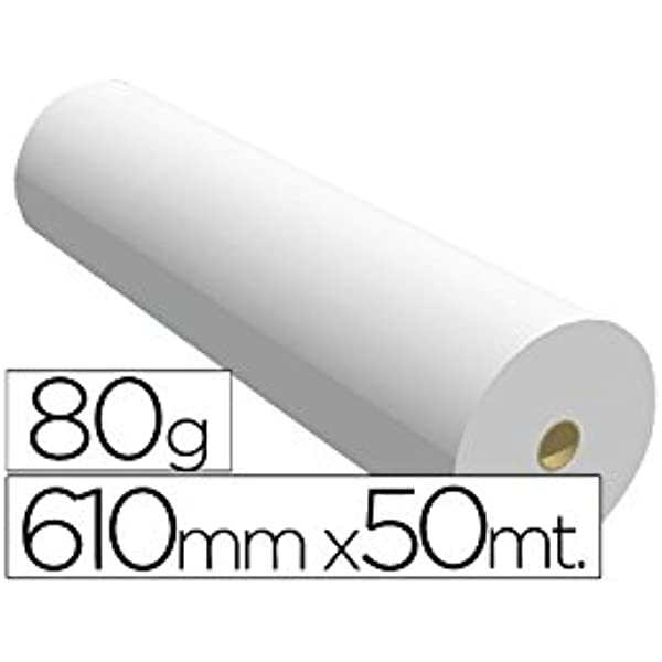 Sprintjet 7610508B - Papel reprografía para plotter, 610 mm x 50 m ...