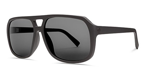 Electric Eyewear  Men's Dude Matte Black/Ohm Polar Grey - Zappos Sunglasses