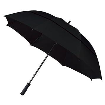 Falcone ECO resistente al viento automático paraguas de Golf – negro