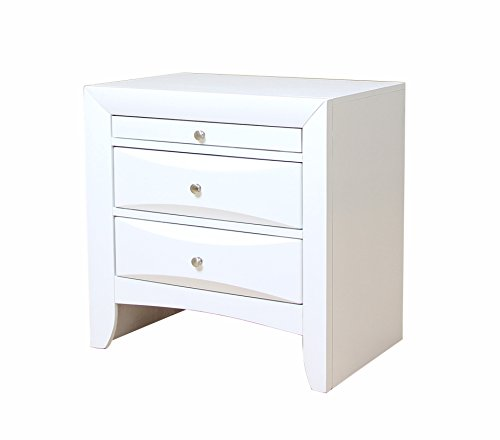 ACME Ireland White Nightstand by Acme Furniture