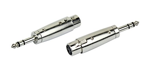 KIRLIN Cable 3121 X2P XLR Female to 1/4-Inch Stereo Plug, 2-Piece