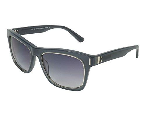 Calvin Klein sunglasses (CK-8509-S 016) Transparent Grey - Silver - Blue Gradient lenses ()