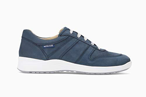 Mephisto Walking Shoes - Mephisto Women's Rebeca Perf Sneakers Navy Nubuck 10 M US
