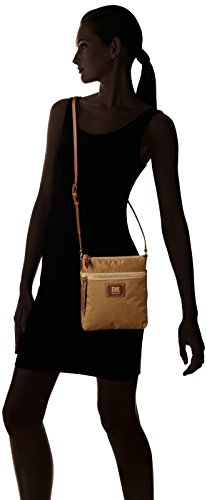 Zip Ivy Nylon Handbag FRYE Tan Crossbody B5Rqaw