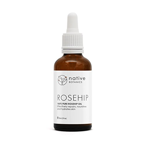 Native Botanics Rosehip Oil – 100% Natural, Certified Organic, Pure &...