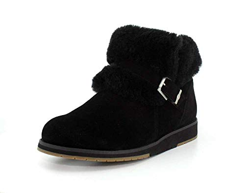 13bab148077 EMU Australia Womens Oxley Fur Cuff Deluxe Wool Boots Size 10