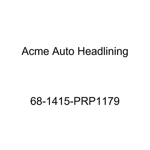 Acme Auto Headlining 68-1415-PRP1179 Black Replacement Headliner (Chevrolet Impala 4 Door Hardtop 5 Bow)