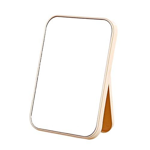 RUYA Foldable Tabletop Vanity Mirror for Bathroom Bedroom Desk Folding Cosmetic Makeup -