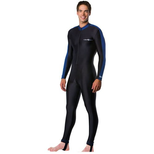 NeoSport Full Body Long Sleeve Lycra Sports Suit for Women and Men - Helps Protect Against UV rays and Skin Irritants - Great for Swimming, Snorkeling, Scuba Diving and All ()