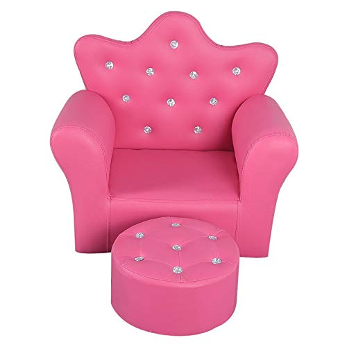 Amazon.com: CHOUCHOU Shelf Childrens Crown Sofa Lovely ...