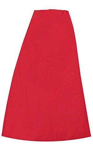 Sottoveste o sottogonna cucita in cotone da indossare sotto al sari indiano, da donna, pronta per essere indossata, taglia unica 022 Crimson Taglia unica
