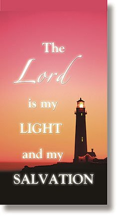 Lord Is My Light Canvas Church Banner