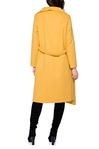 Collection Manteaux Court Lang Femme One Trenchcoat Kendindza Long Senf Size HBZwqZd