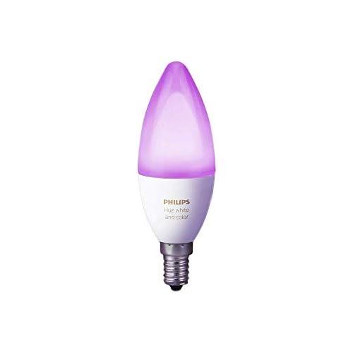 chollos oferta descuentos barato Philips Hue Bombilla Inteligente LED E14 6 5 W Luz Blanca y de Colores Compatible con Alexa y Google Home